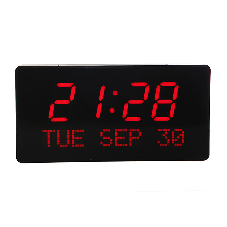 Hot Selling High Quality Square 3 Inches Desk Clock Table Led Display Digital Clock
