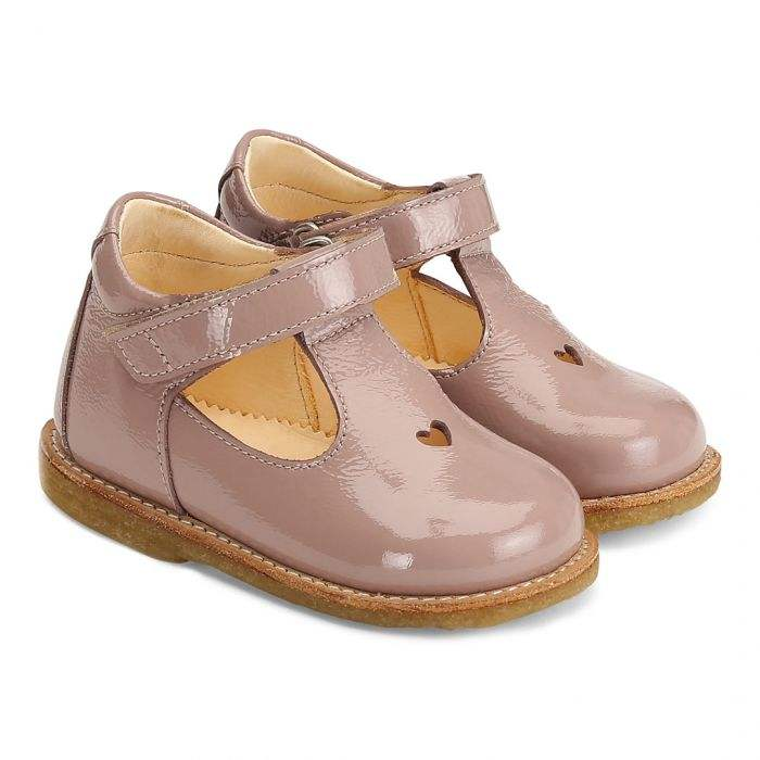 Fancy Baby Girls Dress Shoes Leather Kids Girls Shoes Ankle Mary Jane with Heart