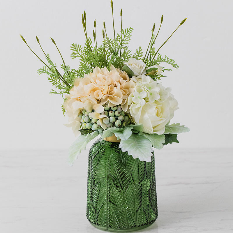 home decor wholesale hydrangea artificial flowers in bulk wedding