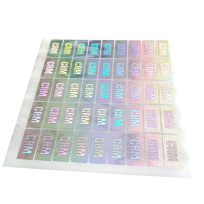 Custom Printing Laser Hologram Anti-counterfeit Sticker Paper Label