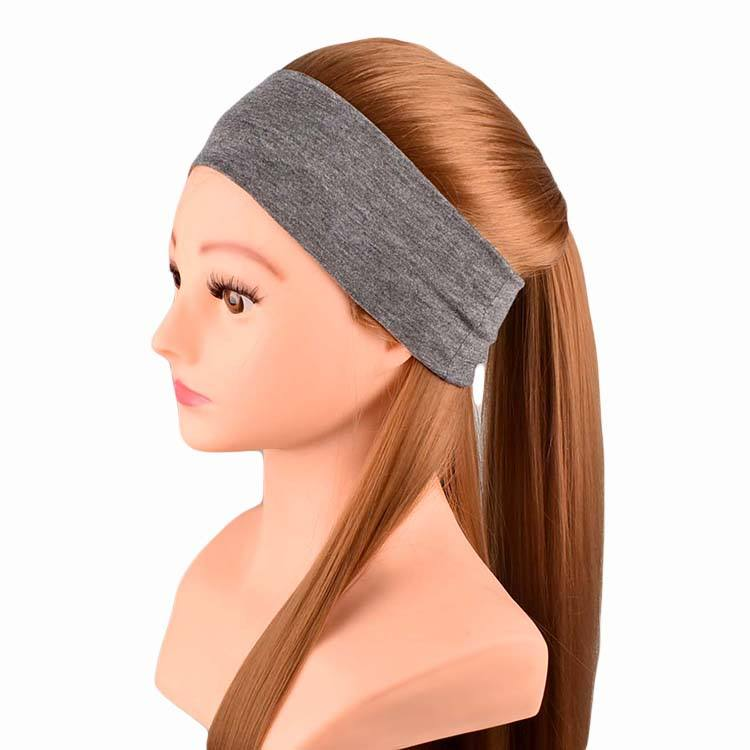 New 2019 sport Solide Color cotton Women headband wholesale cheap girl headwear Hair Band Headband Yiwu factory direct sales