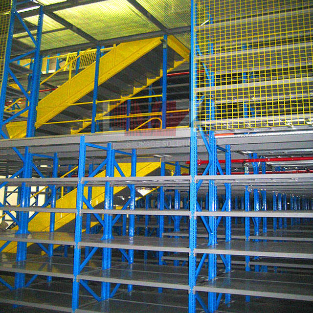 Iso9001 [ Storage Systems ] Industrial Storage Industrial Multi-category Warehouse Mezzanine Storage Systems For Car Accessory