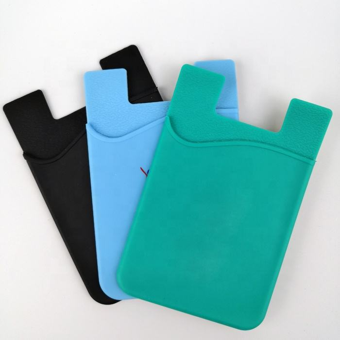 Phone Case Silicone Business Card Holder