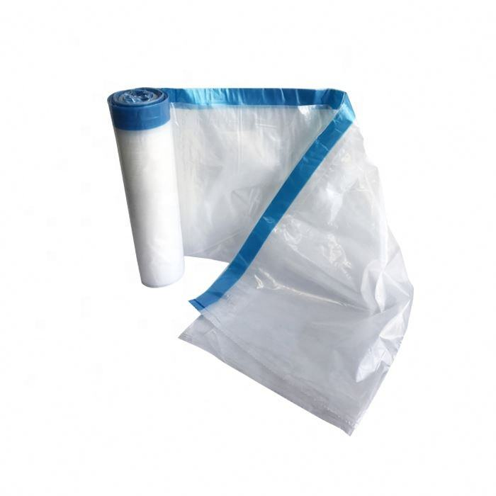 Garbage Bag are Small Medium Large Size Vest Thick Portable Household Kitchen