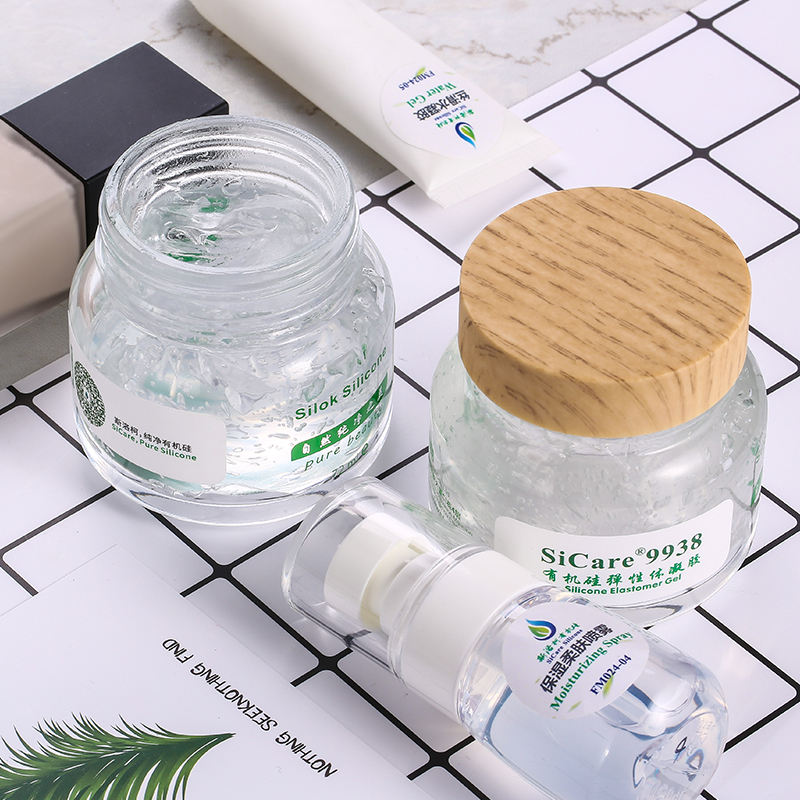 Plant Oil Silicone Elastomer For Skin Care Cosmetics Silicone Elastomer Gel
