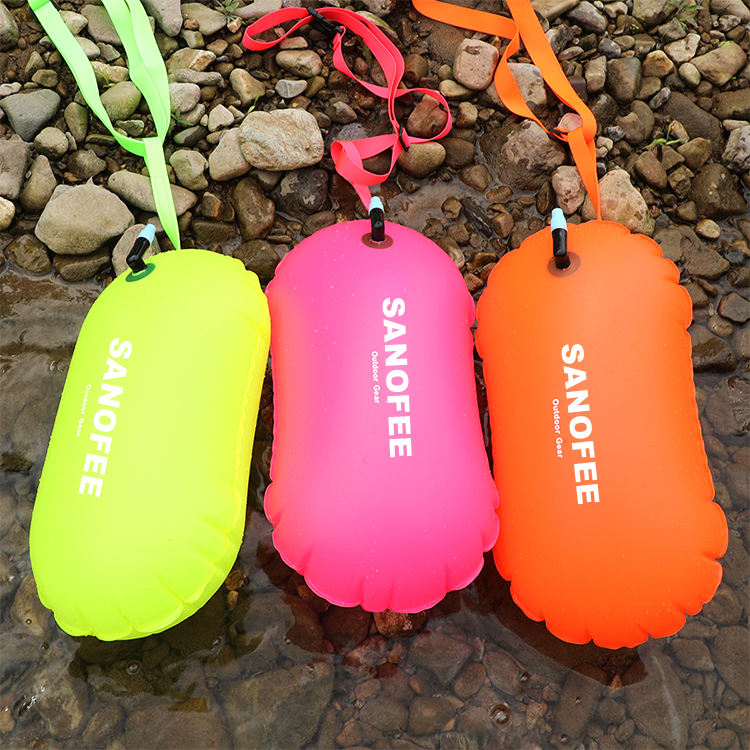 Hot Sell Floating Diving Cylinder Buoy Dry Bag for Camping Swimming