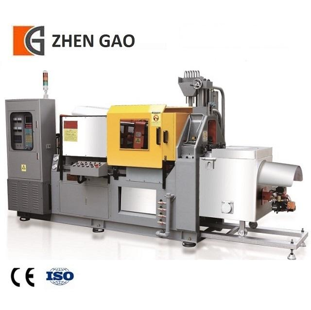India [ Alloy Casting Machine ] Zinc Casting Machine 27 Years History 50T Zinc Alloy Die Casting Machine