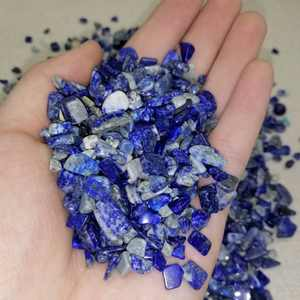 Wholesale natural crystal rough raw lapis lazuli tumbled stone for wedding souvenirs guests