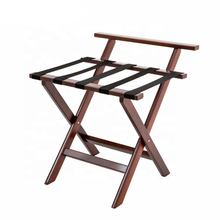 Bulk Folding Solid Wood Luggage Rack for Bedrooms