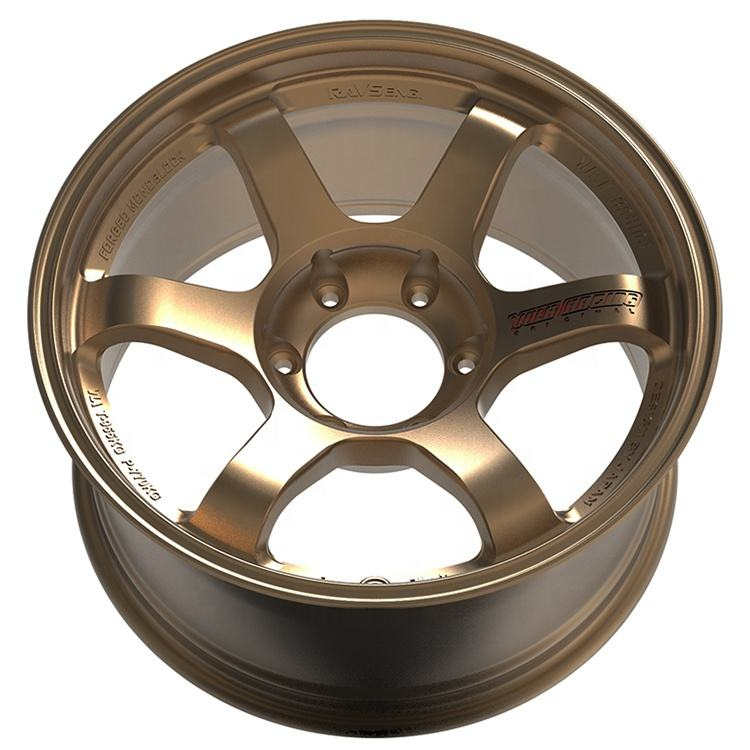 18-inch flow forming car alloy wheel, 18 * 9.5J 6 holes 6*139.7 alloy car wheel rim