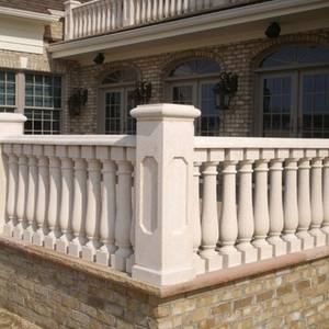 Garden Ornaments Stone Carving Marble Railing Handrail