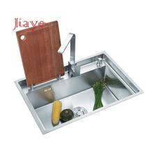 304 Stainless Steel drop in knife holder single bowl ss Kitchen Sink
