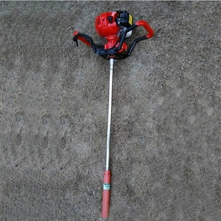 Portable soil sampling equipment Percussive surface sampling drill with complete soil collection
