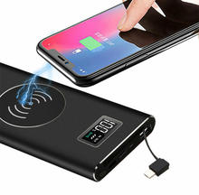 H18 HD 1080P Spy Camera Power Bank Supply 4K Wireless Charging Hidden Camera With Long Recording Time