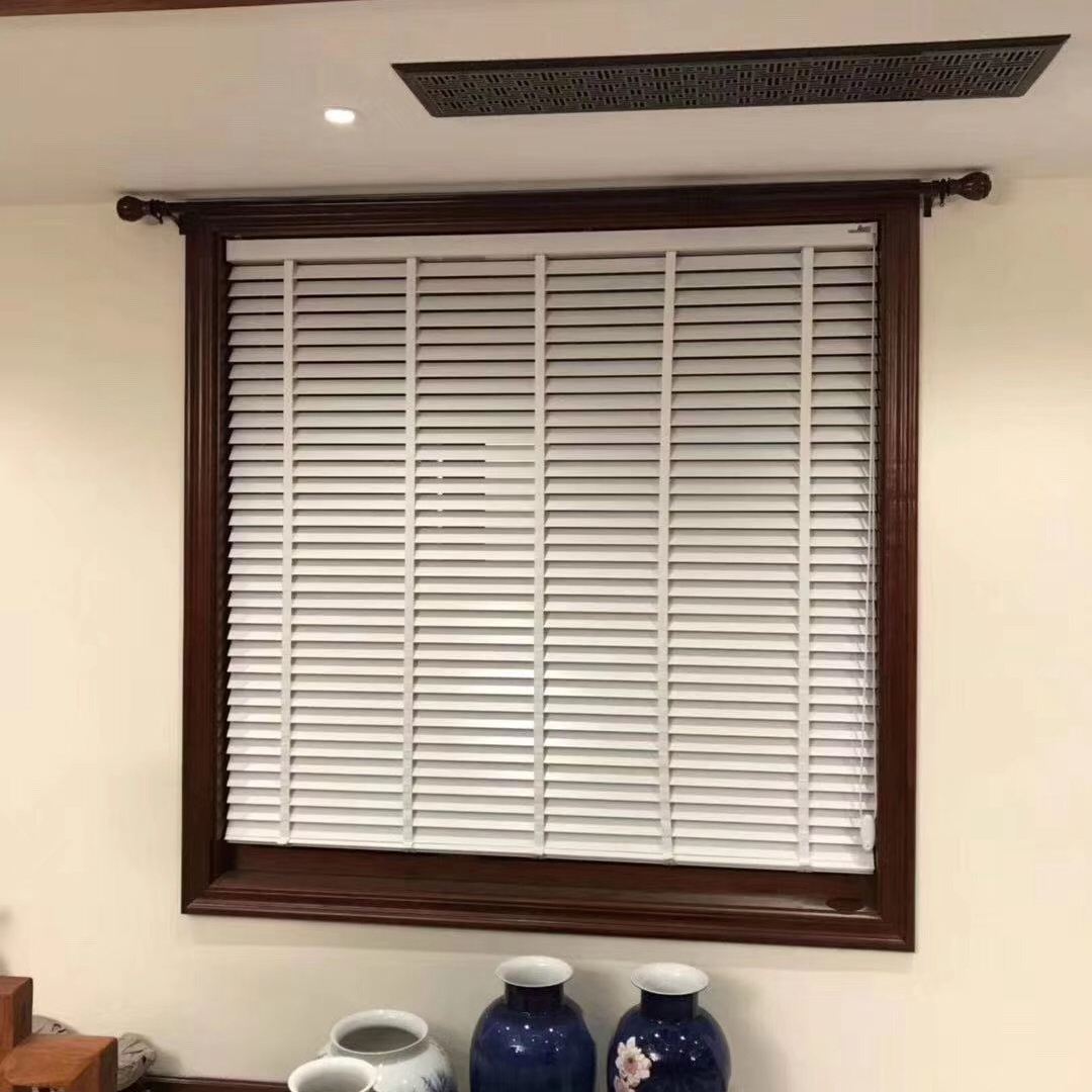 2inch 50mm bass wood venetian blinds for office