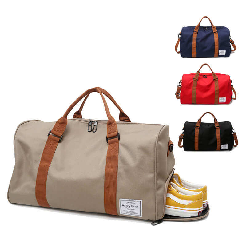 V-020 New fashion outdoor travel duffle bags sports gym bag with shoe compartment