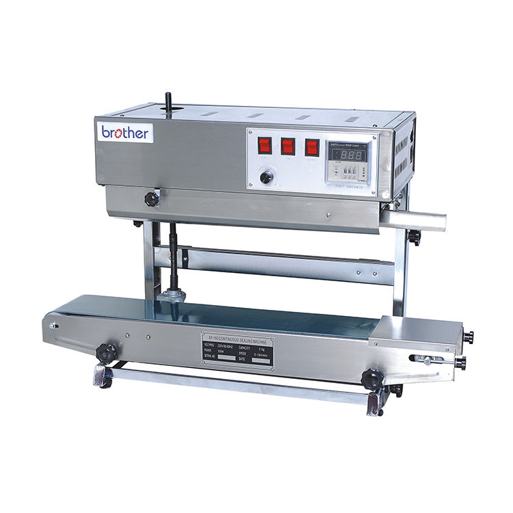 SF150LW Multi-Functional Automatic Vertical Continuous Film Stand Up Pouch Aluminum Plastic Bag Heat Sealing Machine