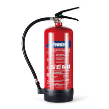 PD6B 6KG POWDER Fire Extinguisher 55A 233B Dry Powder Fire Extinguisher BSI Kitemark BENOR NF CE EN3 6kg ABC Fire Extinguishers