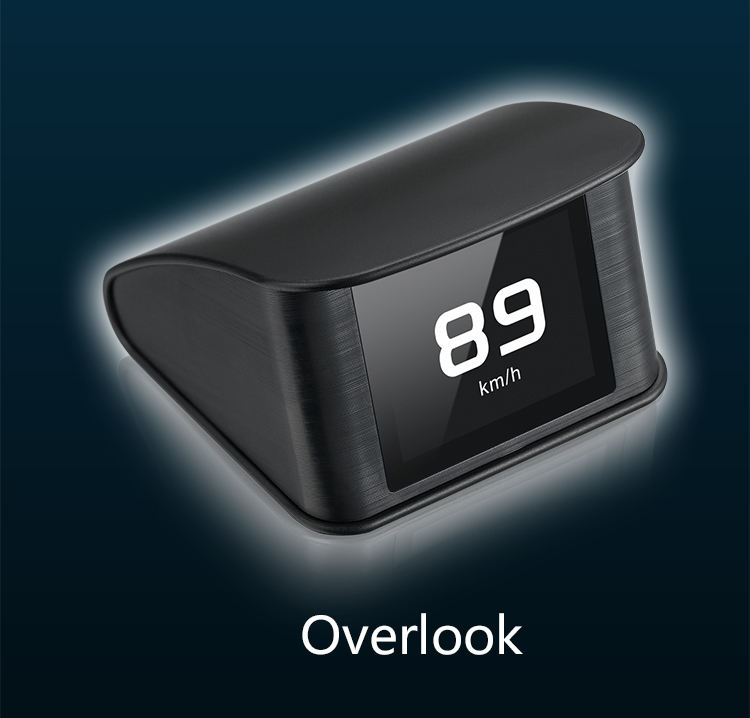 New HUD P10 Car Head Up Display Unit Directly Display OBD Head Up Display can Read and Clear Fault Code