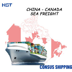 Door To Door Ddp Toronto Montreal Vancouver Cargo Rates Forwarding Container Sea Freight Shipping China To Canada