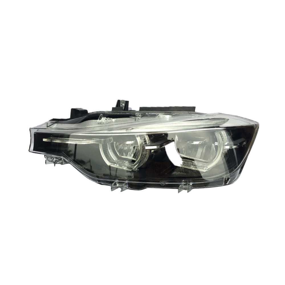Headlamp half Assembly fit for F30 2018 full LED black decorative frame headlight Plug&Play Aftermarket parts car front light