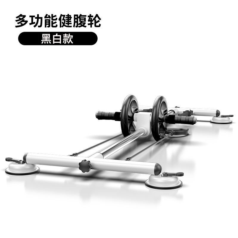 2020 New Products AB Wheel Roller Multi-functional Use Set Wall Pulley Push Up ab roller Rowing Machine Set