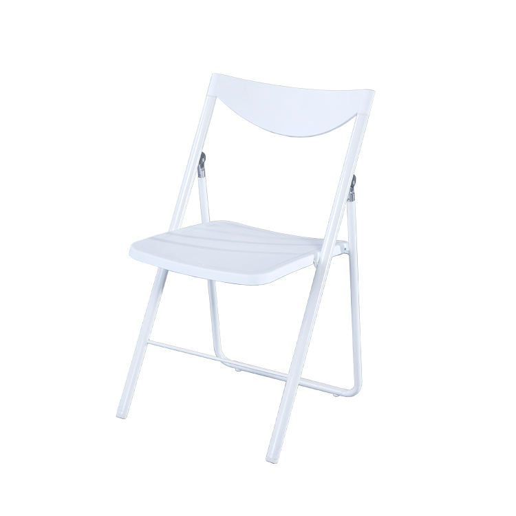 Gomlden high quality plastic folding chair color customized