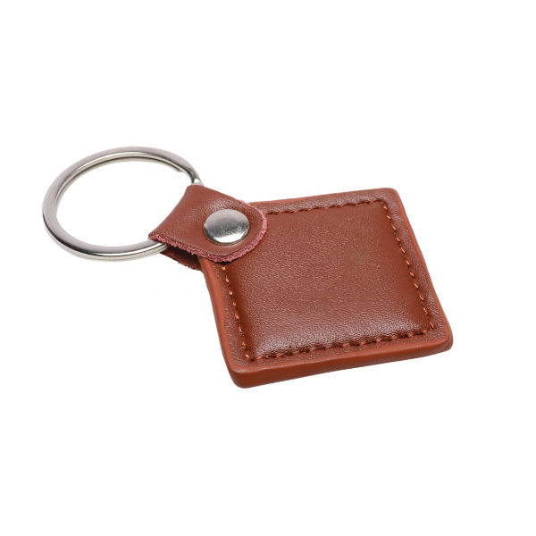 MIFARE Classic 1k and TK4100 Combine rfid Leather keychain 13.56MHz and 125KHz Dual Frequency RFID Keyfob /Key Fob Tag /Keychain