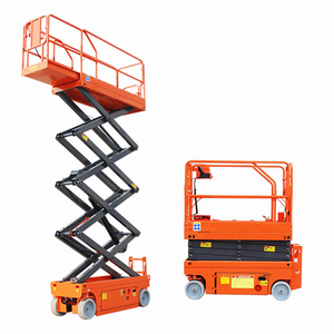 8m Electric Self Propelled Pallet Scissor Table Lift Platform Elevator