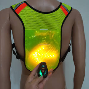 Hot Selling Bike Bicycle Rider LED cycling indicator vest For Traffic