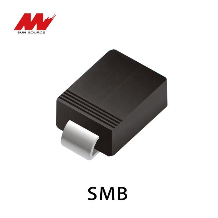 TVS Diodes Transient Voltage Suppressors 600W 13V Bidirect 5 pieces