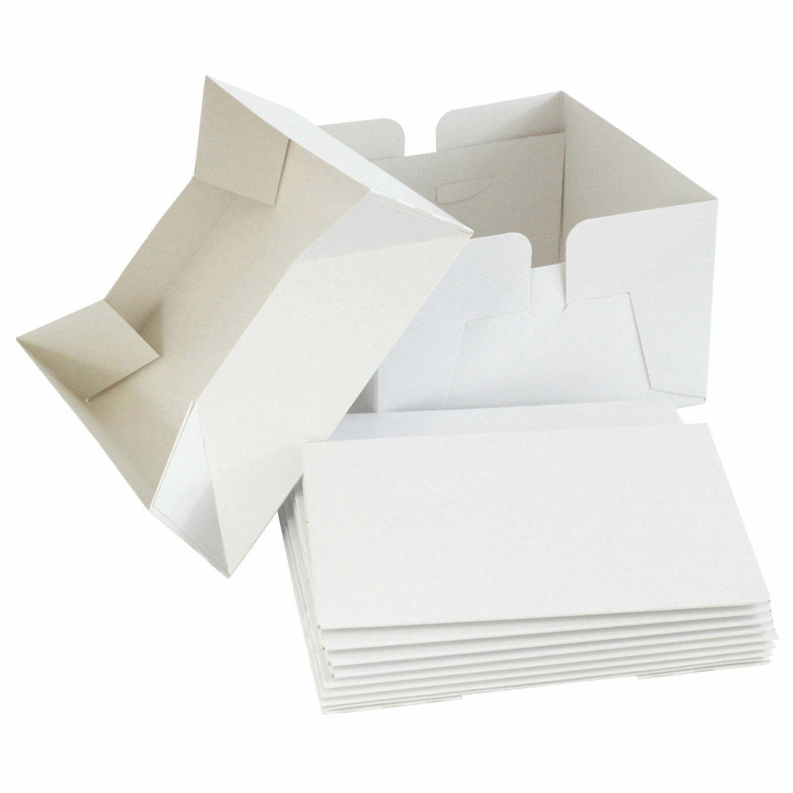 """14/"""" /& 16/"""" inch with lids 12/"""" 10/"""" High Quality Wedding White Cake Boxes 8/"""""""