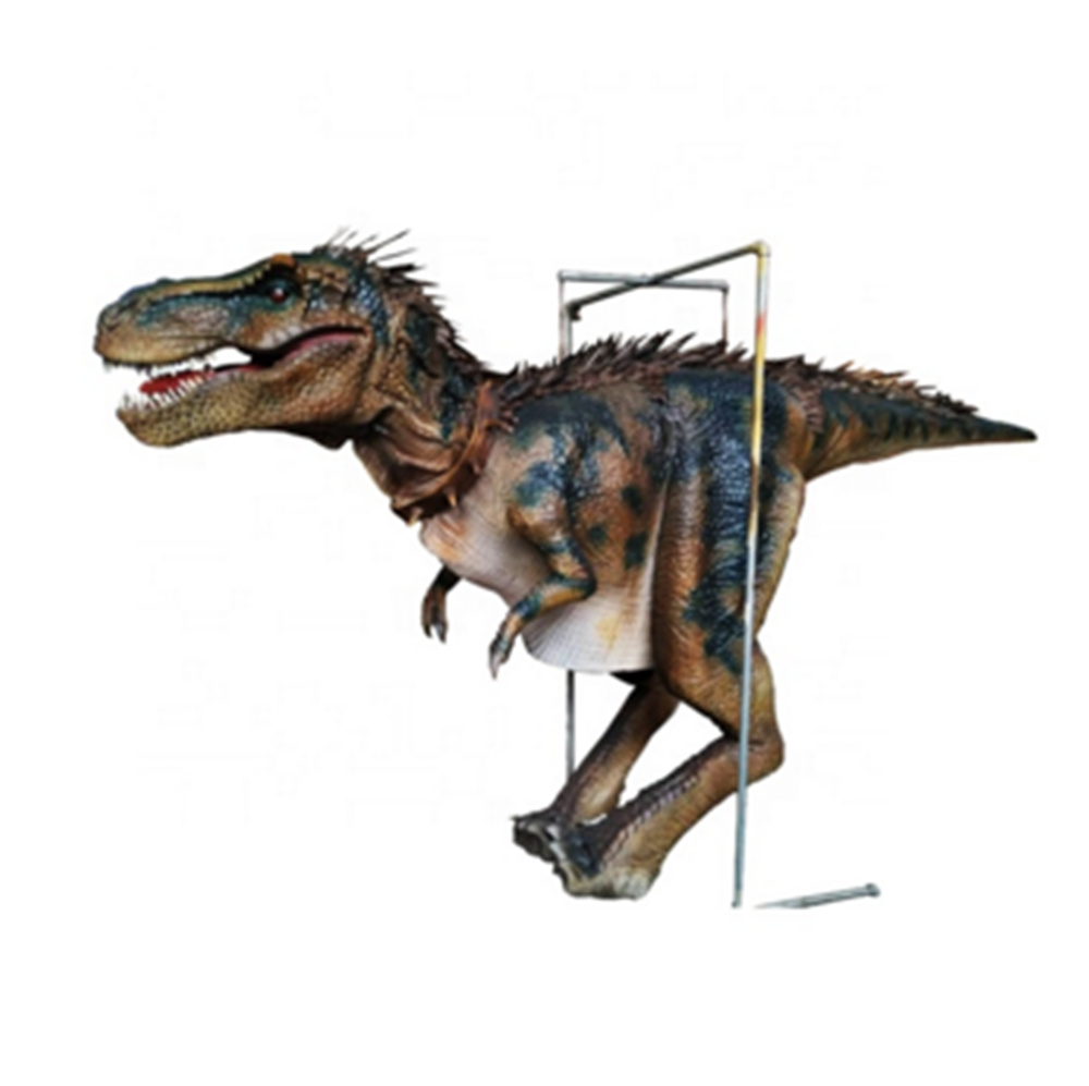 Populaire parc d'attractions animatronic vert <span class=keywords><strong>trex</strong></span> raptor dinosaure <span class=keywords><strong>costume</strong></span>