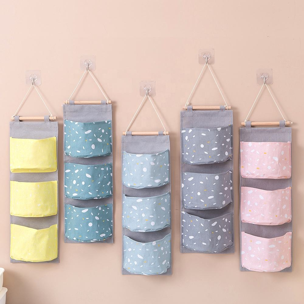 Eco-Friendly Wall Hanging Storage Bag/ door hanging organizer for room