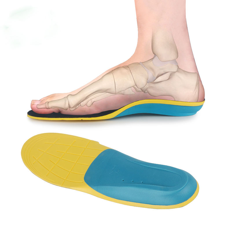 ZRWE15C Plantar Fasciitis Feet Insoles Orthotic Inserts with Arch Support Relieve Foot Pain
