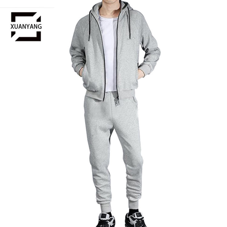 Blank Tracksuits Design Your Own jogging Suits Wholesale Men Jogger Sweat suits