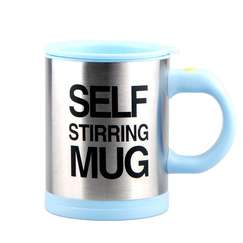 Auto Mixer Mug Self Stirring Handy Promotional Automatic Self Steering Spinning Mixing Coffee Travel Mug