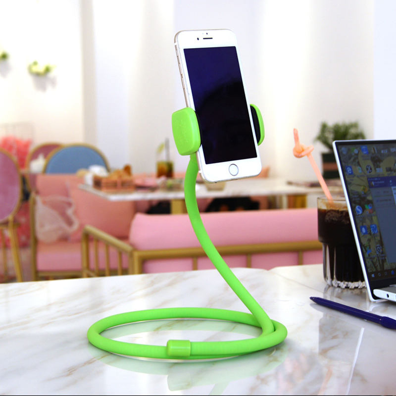 High quality multifunctional gooseneck Lazy artifact desk selfie metro choice mobile stand holder
