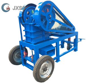 Portable Agregat Penghancur Batu Jaw Rock Crusher