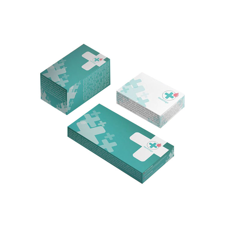 logo printed medicine boxes