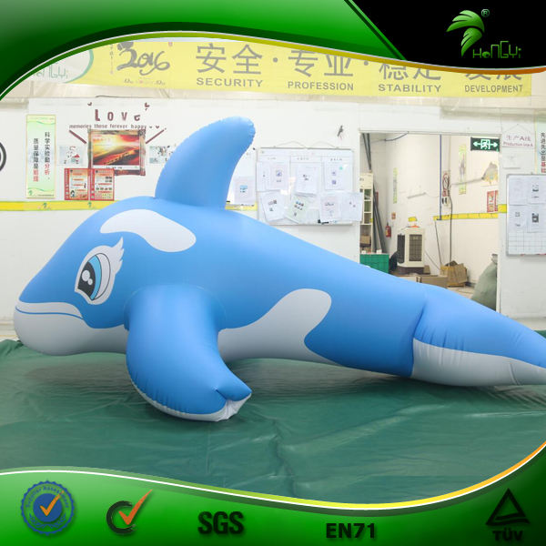 Bondage Inflatable Whale Suit Hongyi Inflatable Animal Suit Blow Up Dolphin Costume Orca Balloon