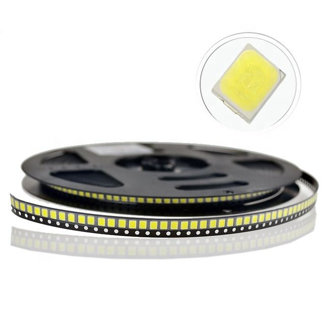 High quality SMD LED 2835 chip 1w 6V@150mA Cri>80 120-130lm VF6.0-6.3/6.3-6.6 Chip