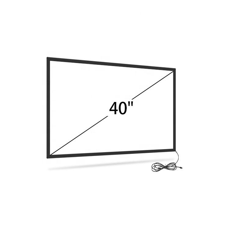 <span class=keywords><strong>Infrarood</strong></span> touch screen 40 inch multi ir touch frame, ir touch panel overlays voor lcd of tv