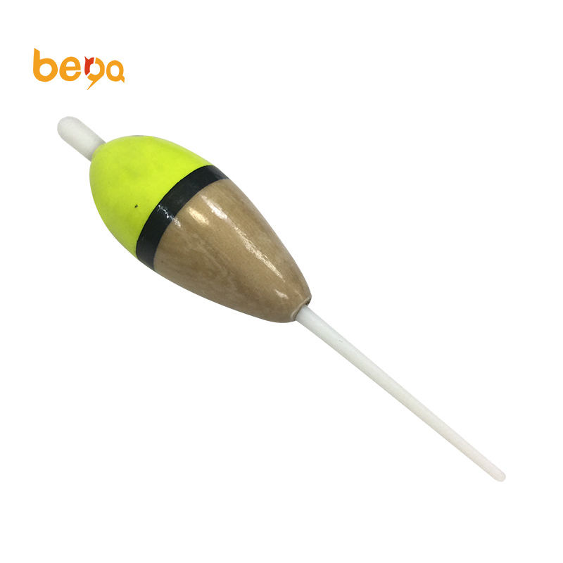 High Quality OEM Service Bobber Cork Float Adjustable Paulownia Wood Fishing Float