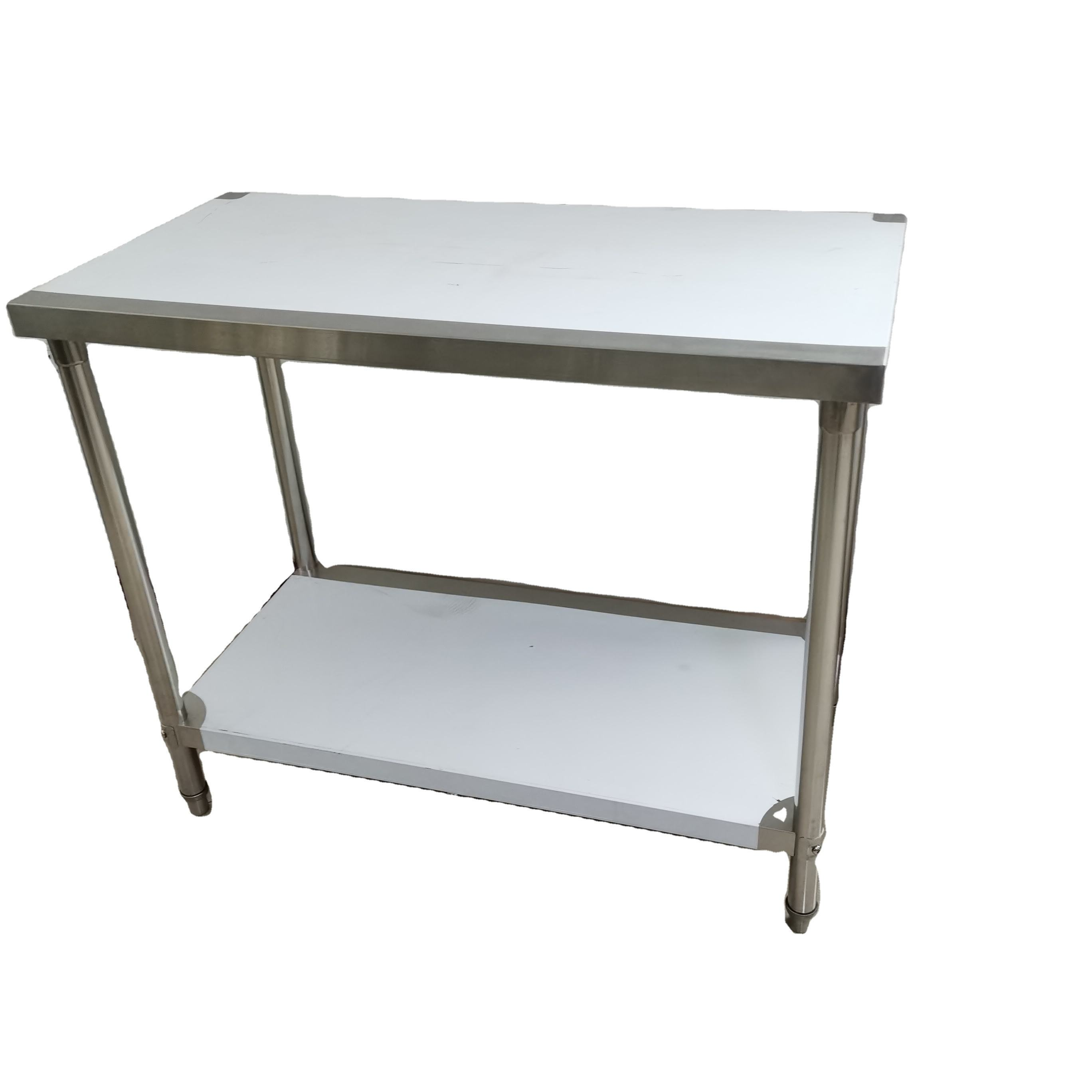 High Quality Stainless Steel Work Bench Outdoor Stainless Steel Benches