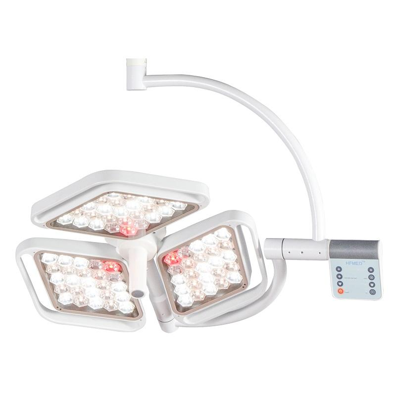 140000 Lux Color Temperature Adjustable Ceiling Surgical Operation Light 50000 Hours Hospital Operating Room Equipment