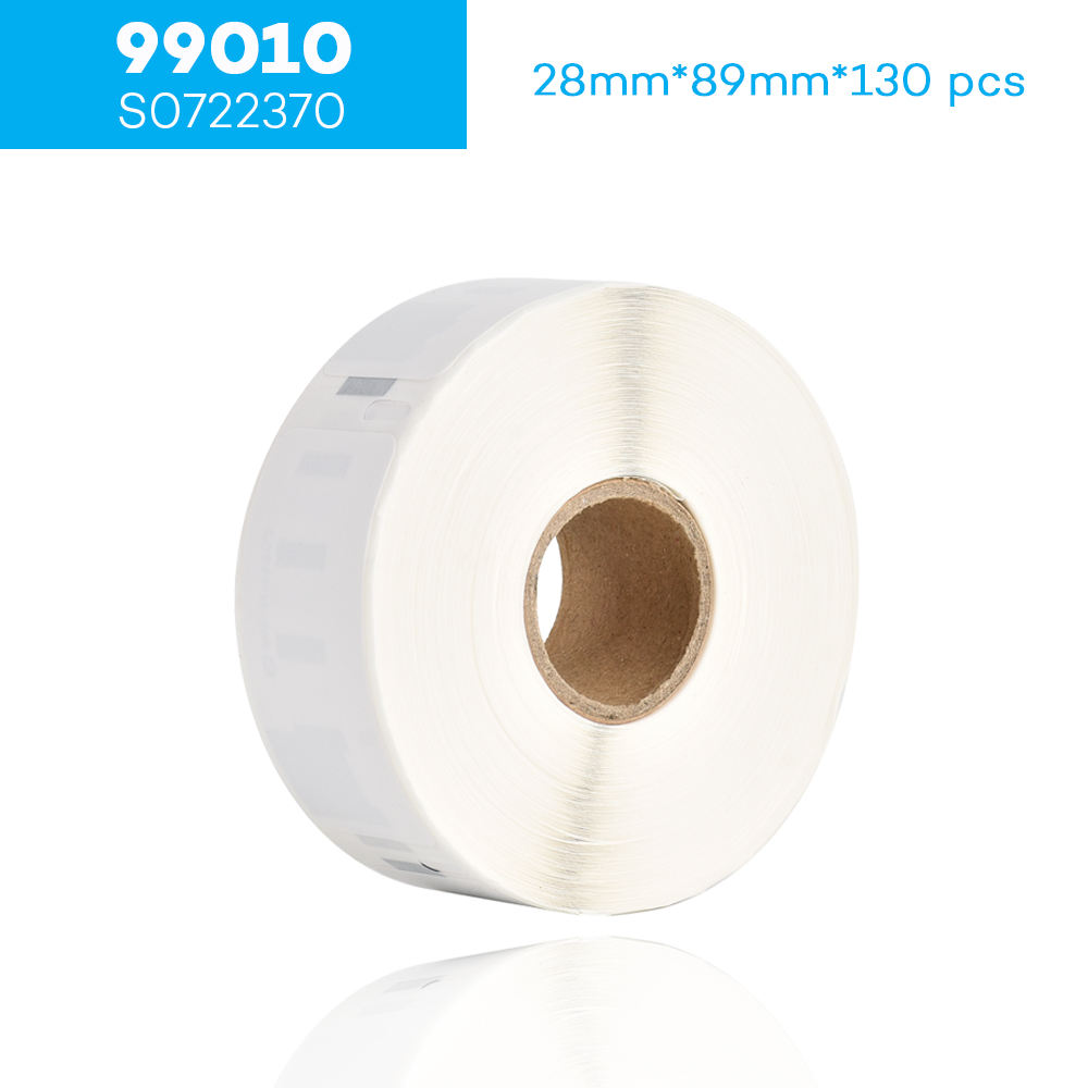 Dymo® Compatible Labels Small Multipurpose 40 Rolls 30332 White 750 P//R BPA Free