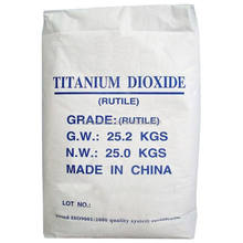 tio2 rutile/anatase grade pigment for paint industry