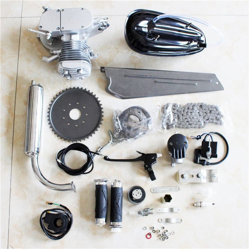 80cc 2-Stroke Bicycle Gasoline Engine Motor Kit DIY Motorized Bike Parts