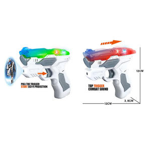 Aurora Electronic 2pcs Space Guns And Weapons Army Projectiong toys